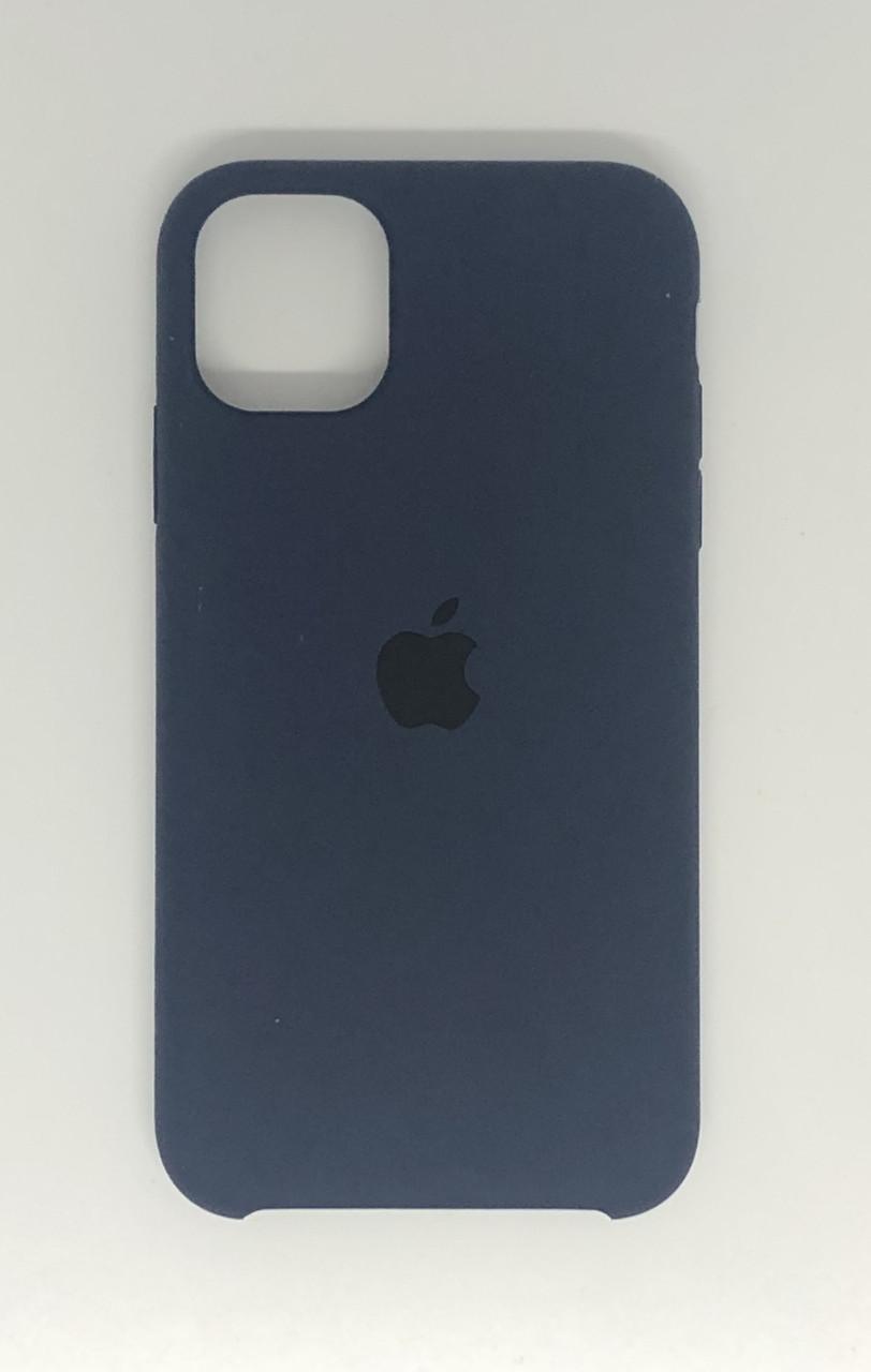 "Чехол Silicon iPhone 11 - ""Темная полночь №8"""