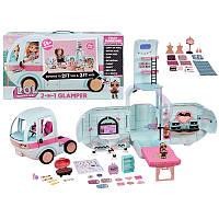 Автобус Лол Игровой набор-сюрприз LOL SURPRISE! Гламурный Кемпер с аксессуарами 562511