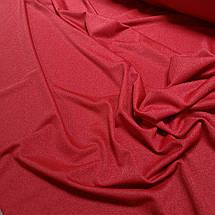 Креп-дайвинг трикотаж металлик красный, фото 3