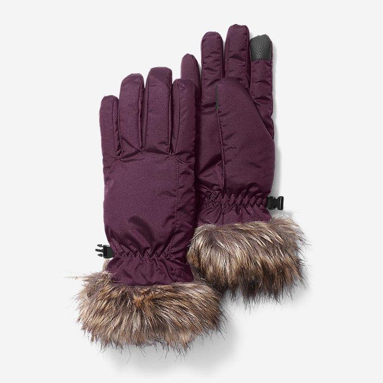 Перчатки Eddie Bauer Women's Sun Valley Down Gloves Dk Plum M