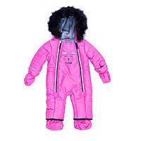 Зимний комбинезон для девочки Nano F19M474 Virtual Pink. Размеры 9 мес - 24 мес.