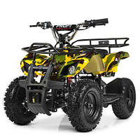 Квадроцикл HB-EATV800N-13(MP3) V3 желтый камуфляж