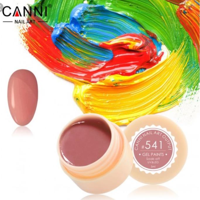 Гель-краска CANNI №541, 5мл