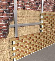 Стекломагнезитовая плита 10 мм с клинкерной плиткой Royal Facade для навесного вентилируемого фасада