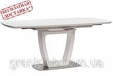 Стол RAVENNA MATT WHITE 140/180х85 белый матовое стекло Concepto (бесплатная доставка)