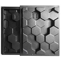 """Комплект форм """"Улей"""" для 3D перегородок из двухсторонних блоков, фото 1"""