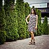 Летнее платье с воланом для кормления - Ромашки