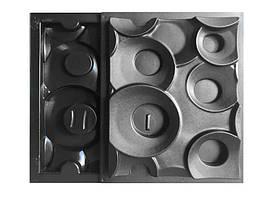 """Комплект форм """"Кольца"""" для 3D перегородок из двухсторонних блоков"""