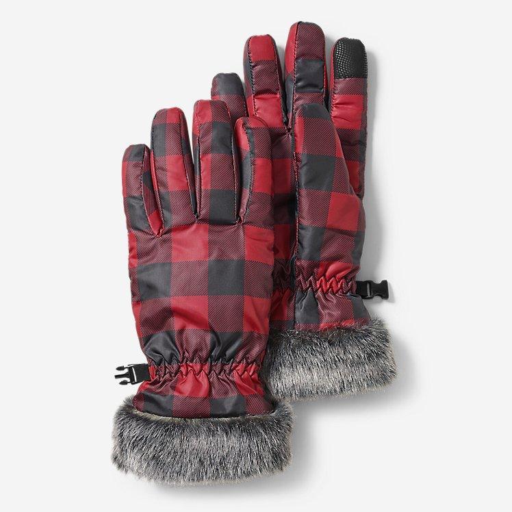 Перчатки Eddie Bauer Women's Sun Valley Down Gloves Scarlett S
