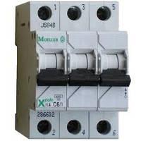 Автоматический выключатель Eaton Moeller PL6 (3-полюсный)