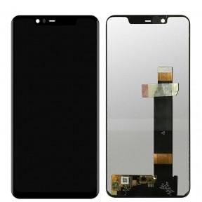 Дисплей Nokia 5.1 Plus, X5 (2018) TA-1109, TA-1112 з сенсором (тачскрін) чорний Оригінал Китай