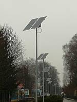 40W  светодиодный автономный уличный светильник SMD с солнечной батареей 310W