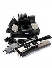 Машинка для стрижки волос Триммер универсальный 10в1, 5 насадок Gemei GM-592 Original