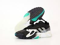 """Кроссовки замшевые мужские Adidas StreeBall """"Черные с серым"""" адидас р. 41-45"""