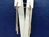 Золотые серьги с фианитами. Артикул СВ931(2)И, фото 1