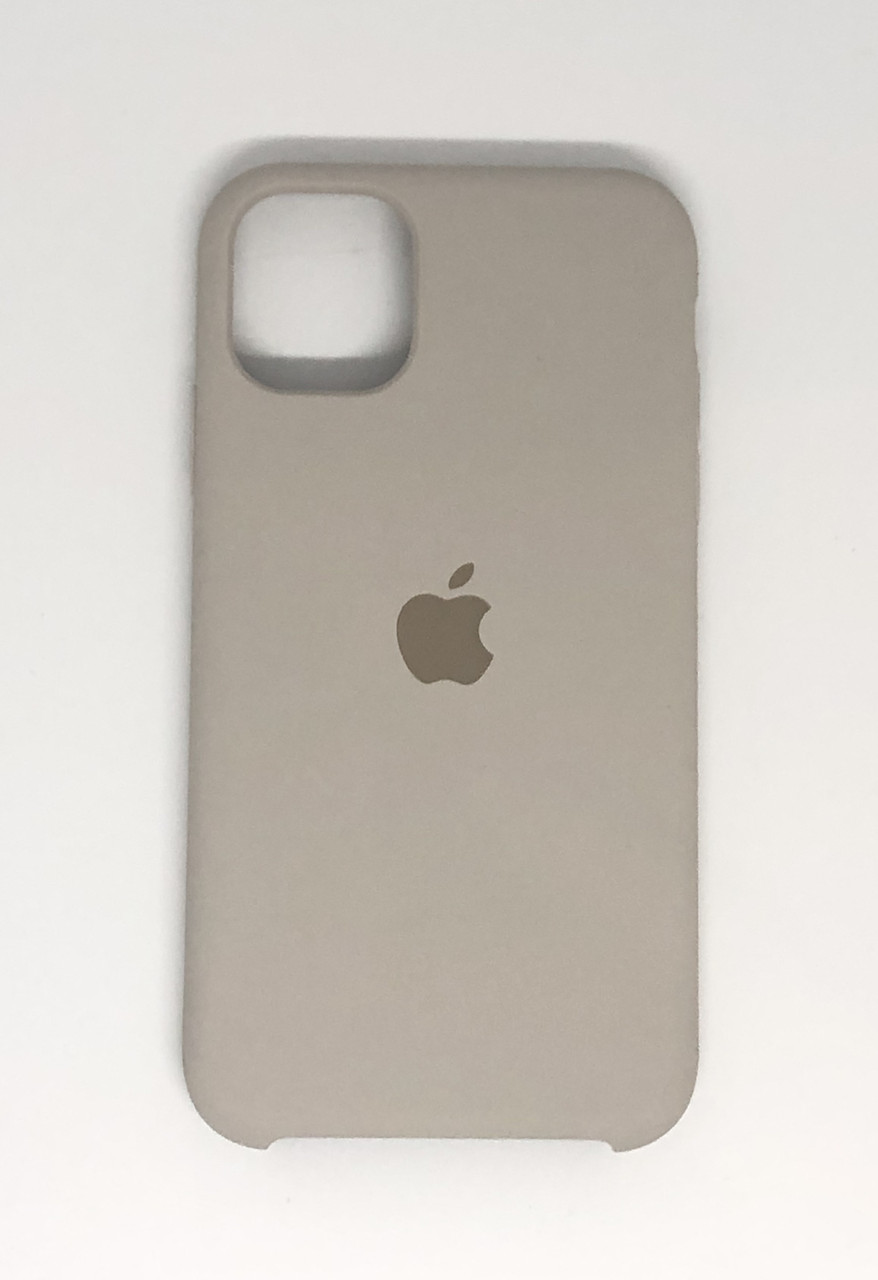 "Чехол Silicon iPhone 11 - ""Белый камень №10"""