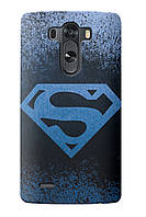 Чехол для LG G4 (Superman)