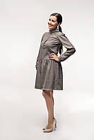 Платье в клеточку для беременных и кормления, фото 1