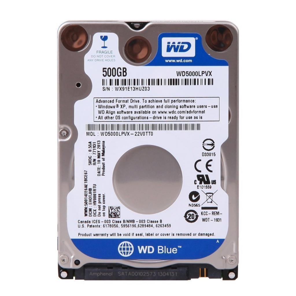 "Жесткий диск 2.5"" 500Gb WD (WD5000LPCX)"