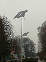 40W  светодиодный автономный уличный светильник SMD с солнечной батареей 550W, фото 1
