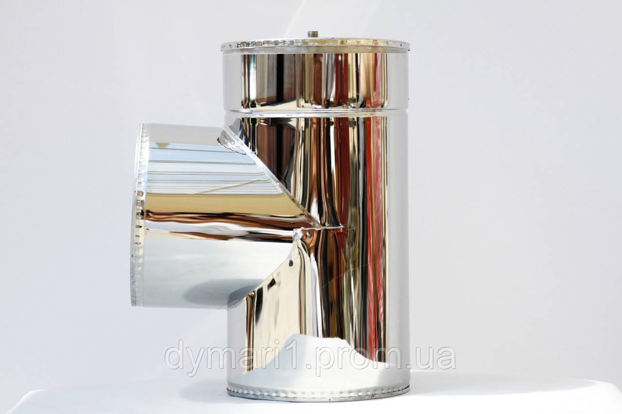 Тройник термо 87 Ф250/320 к/к