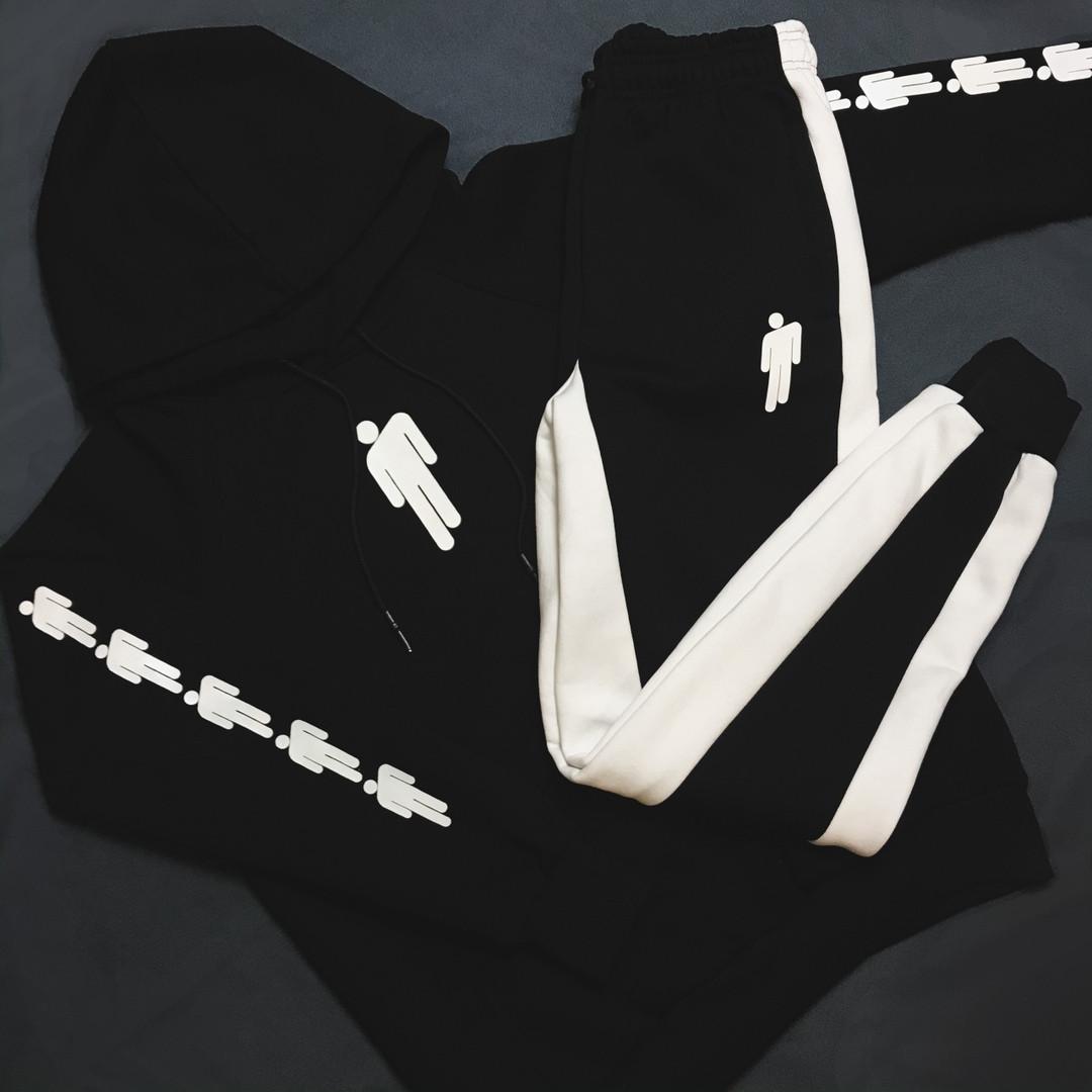 Чоловічий спортивний костюм (Худі+ штани) BILLIEEILISH