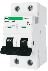 Автоматический выключатель АВ2000 2Р C50А 6кА PF