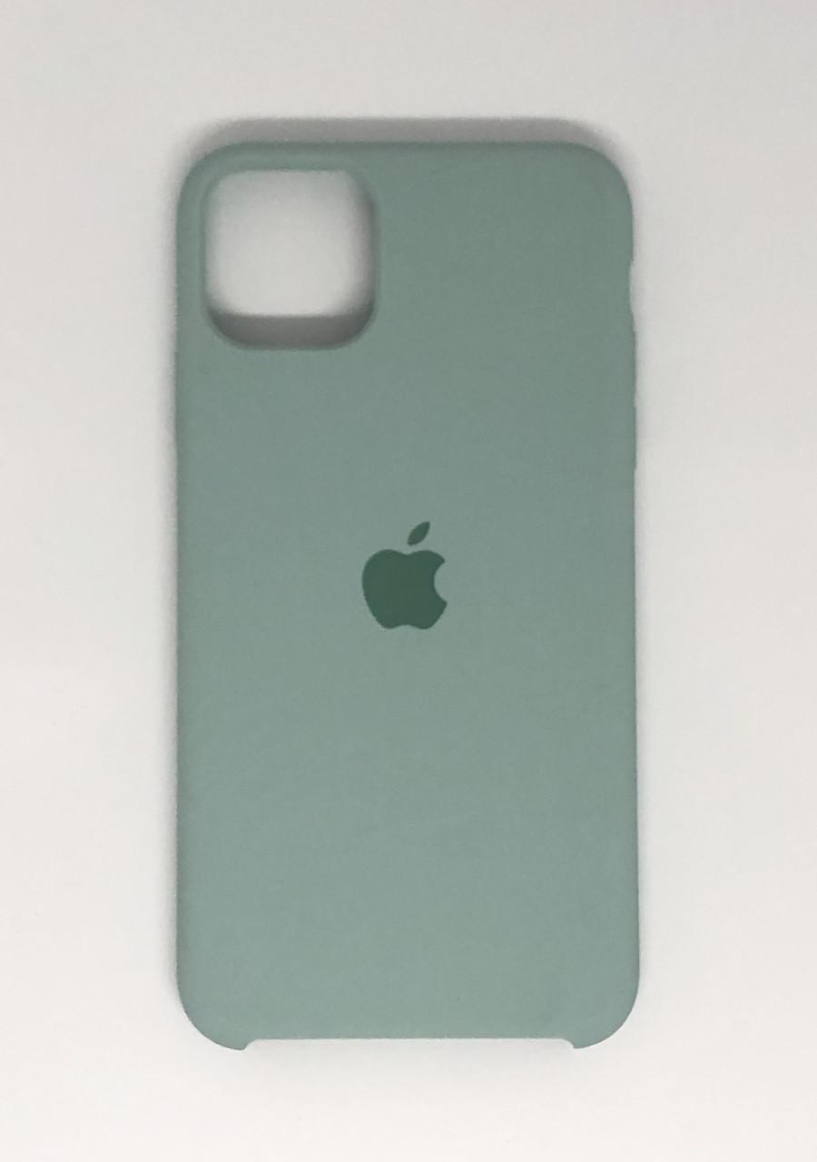 "Чехол Silicon iPhone 11 - ""Бирюзовый №17"""