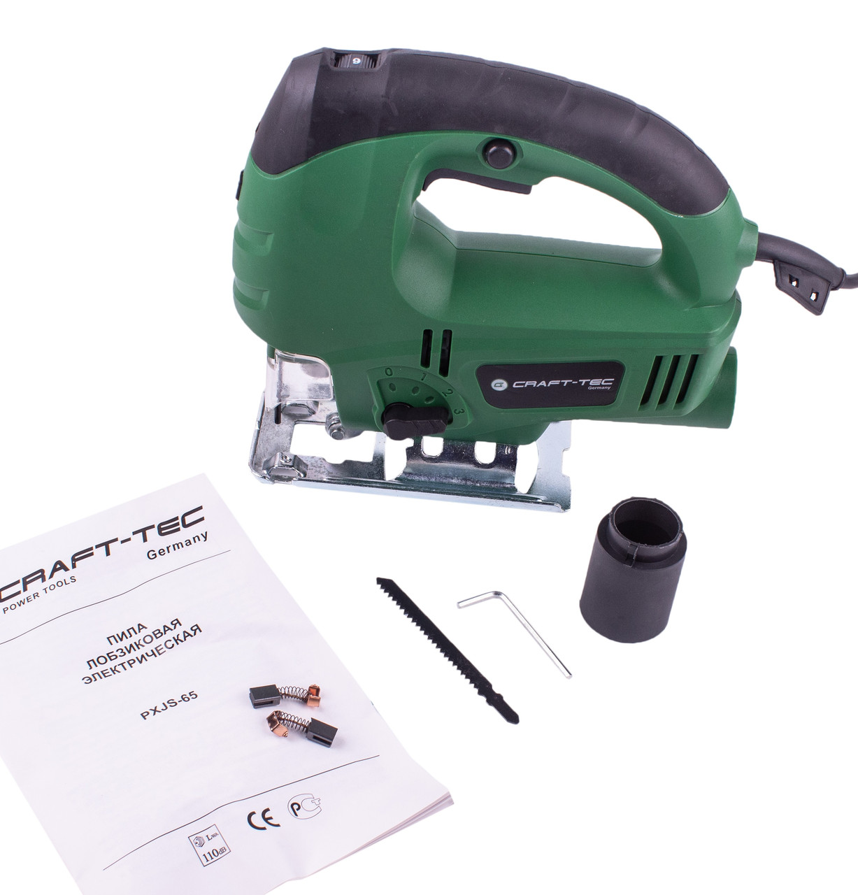 Лобзик электрический Craft-tec PXGS-65 (900Вт, Лазер)