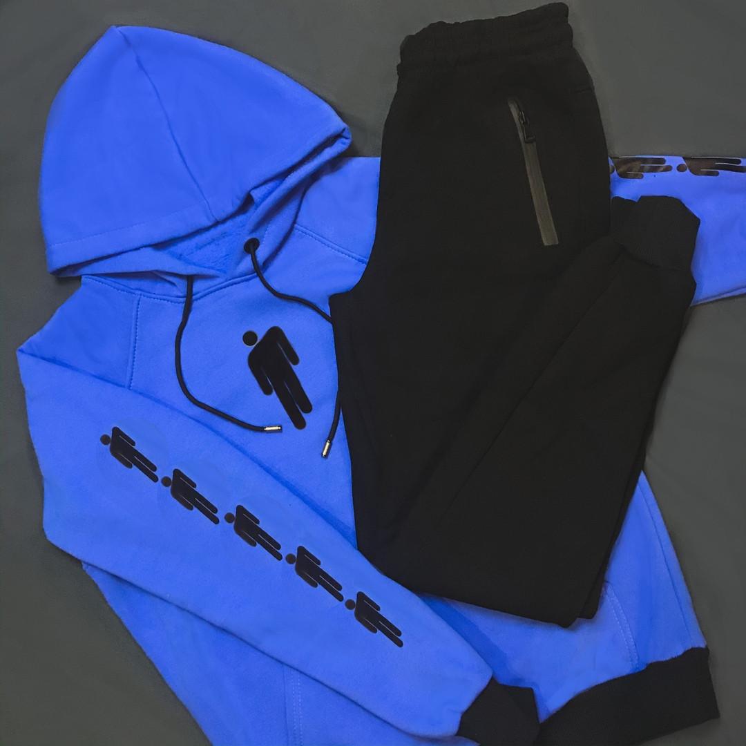 Мужской спортивный костюм (Худи+ штаны) BILLIEEILISH