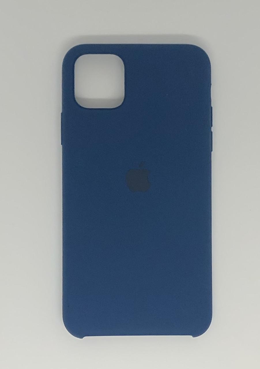 "Чехол Silicon iPhone 11 - ""Синий кобальт №20"""