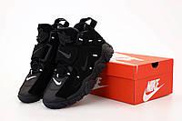 """Кроссовки мужские кожаные Nike Air Barrage """"Черные"""" барадж найк аир р.41-46"""