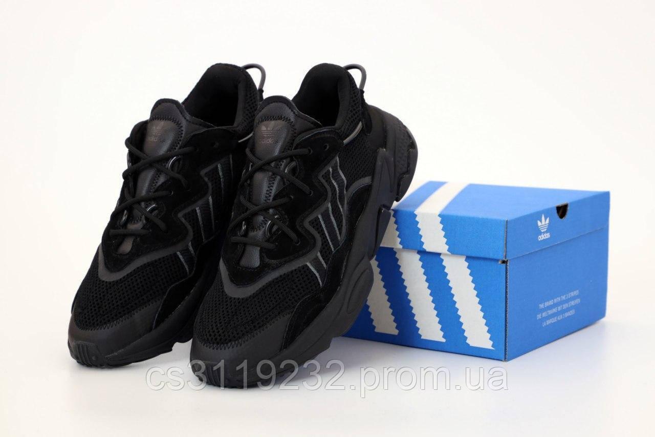 Чоловічі кросівки Adidas Ozweego (чорний)