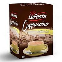 Кофейный напиток Капучино La Festa ванильный,10 пак х 12,5 гр