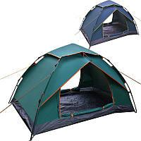Палатка-автомат с автоматическим каркасом двухместная туристическая SY-A51: размер 2,1х1,5х1,2м (2 цвета)