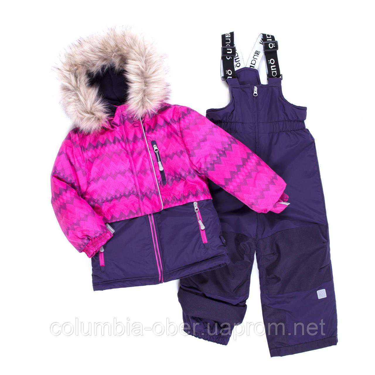 Зимний комплект для девочки NANO F19M276 Plum / Purple. Размеры 2 - 12.