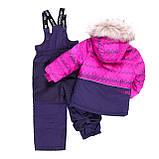 Зимний комплект для девочки NANO F19M276 Plum / Purple. Размеры 2 - 12., фото 2