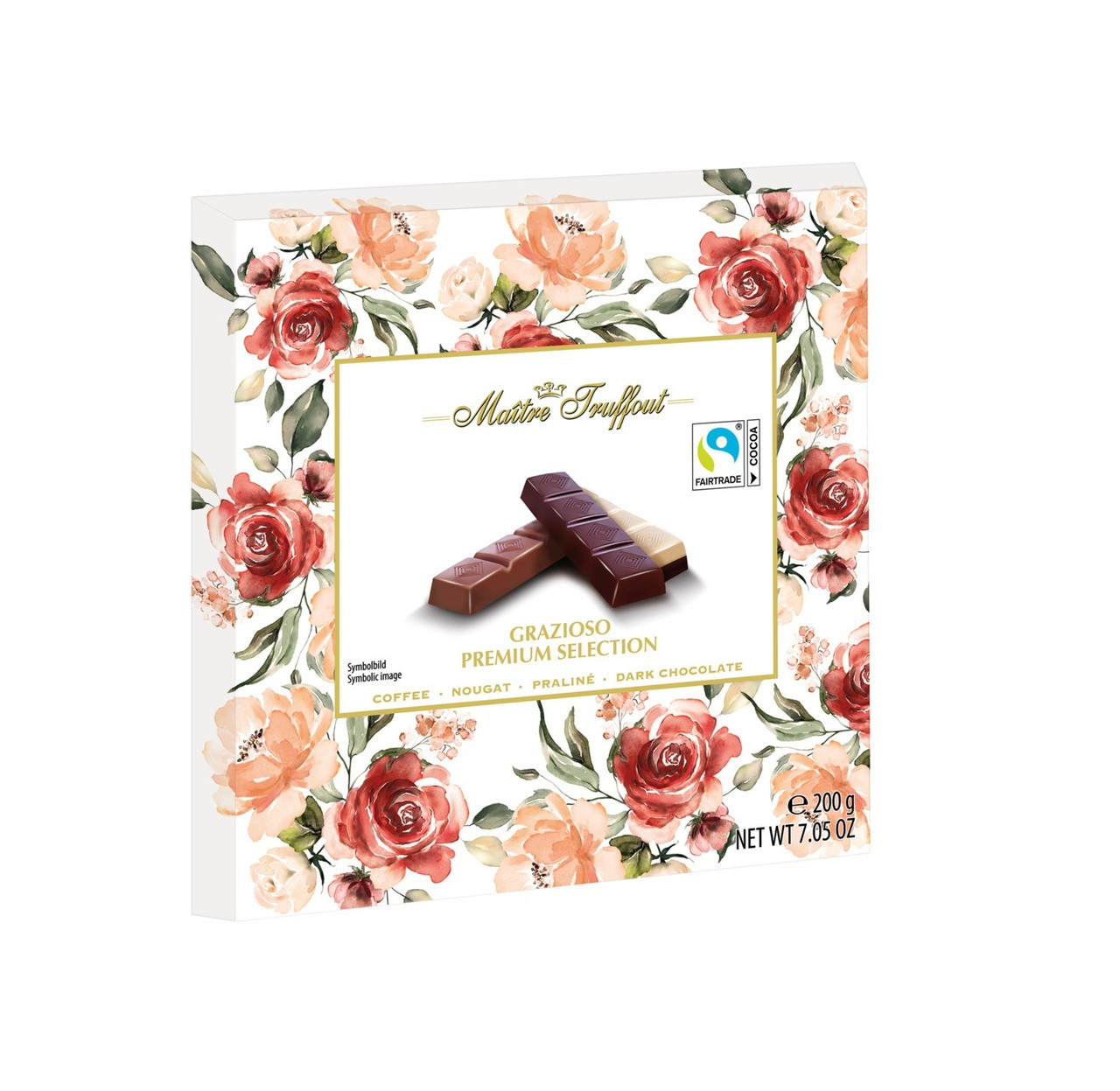 Шоколад Maitre Truffout Grazioso Premium Selection 200 гр