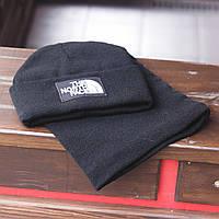 Зимний комплект Шапка+Баф The North Face