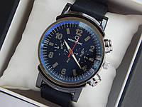 Мужские кварцевые наручные часы Montblanc на каучуковом ремешке