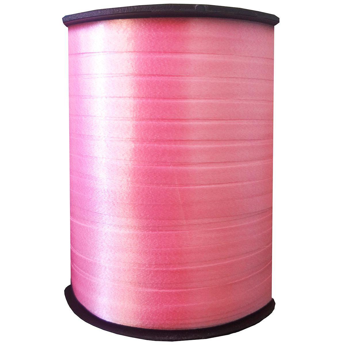 Лента розовая 5мм*300м