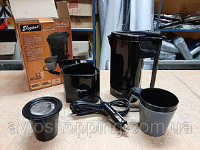 Дорожный электрочайник, автомойбильный чайник, кофеварка от прикуривателя 12V!