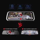 10' Видеорегистратор для автомобиля Junsun 4G ADAS на Android 5.1 с 15 МП камерой FHD 1080P WiFi Bluetooth GPS, фото 2
