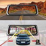 10' Видеорегистратор для автомобиля Junsun 4G ADAS на Android 5.1 с 15 МП камерой FHD 1080P WiFi Bluetooth GPS, фото 3