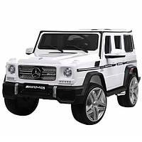 Електромобіль дитячий джип Bambi Mercedes M 3567EBLR білий CH1056