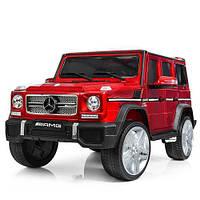 Електромобіль дитячий джип Bambi Mercedes M 3567EBLR 4WD червоний CH1064