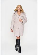 Пальто женское демисезонное Марго, шерсть | 44-64р., фото 2