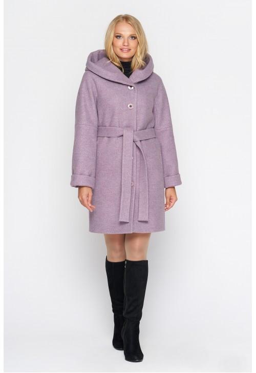 Пальто женское демисезонное Марго, шерсть | 44-64р.