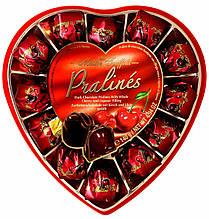 Конфеты шоколадные пралине с вишневым ликером Maitre Truffout Cherry with liqueur 140 г Австрия