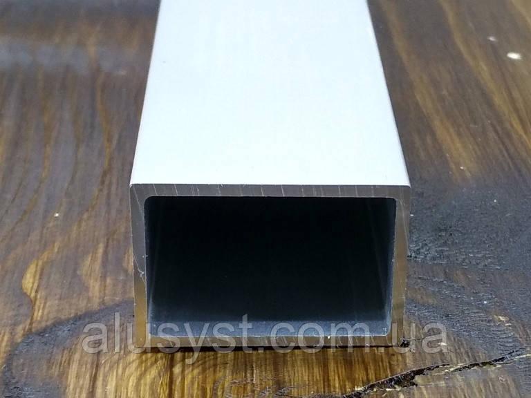 Алюминий труба 30х20х1.5 / анод